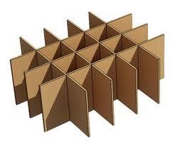 Комплектующие из картона
